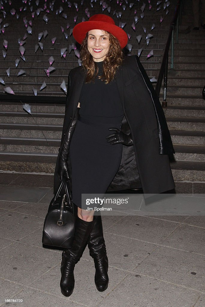 Noomi Rapace attends the Vanity Fair Party during the 2013 Tribeca Film Festival at the State Supreme Courthouse on April 16, 2013 in New York City.