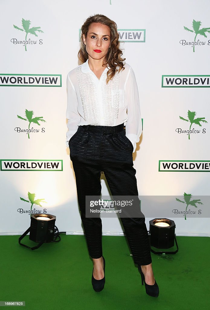 Noomi Rapace attends the Worldview Entertainment Cannes Celebration during the 66th Annual Cannes Film Festival at Carlton Beach Club on May 17, 2013 in Cannes, France.