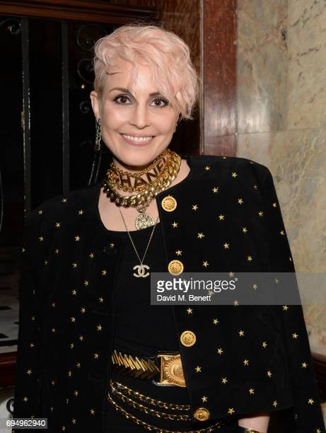 Noomi Rapce attends the Charles Jeffrey LOVERBOY x 10 Men Magazine LFWM party celebrating the 5th anniversary of London Fashion Week Men's at The...