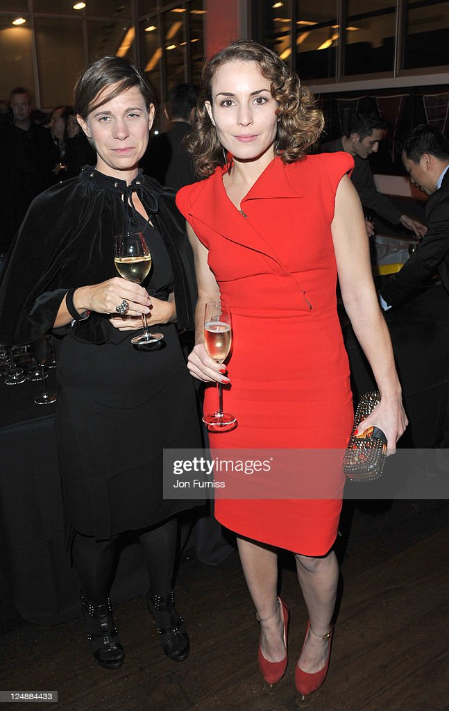 Noomi Repace (R) attends the ' Tinker, Tailor, Soldier, Spy' UK premiere after party on September 13, 2011 in London, England.