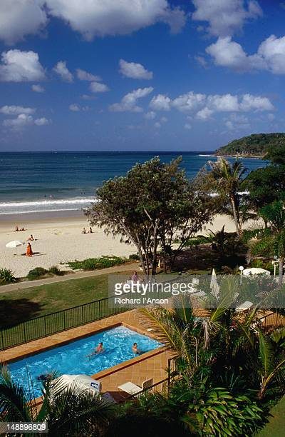 Noosa beach and resort living on the Sunshine Coast.
