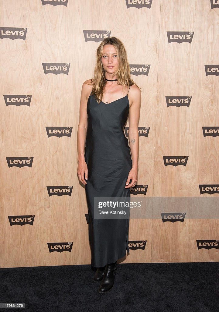 Noot Seear attends the Levi's Women's Collection Exhibition Launch at The Levi's Store Times Square on July 7, 2015 in New York City.