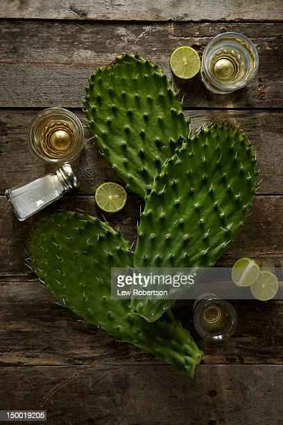 Nopales and tequila