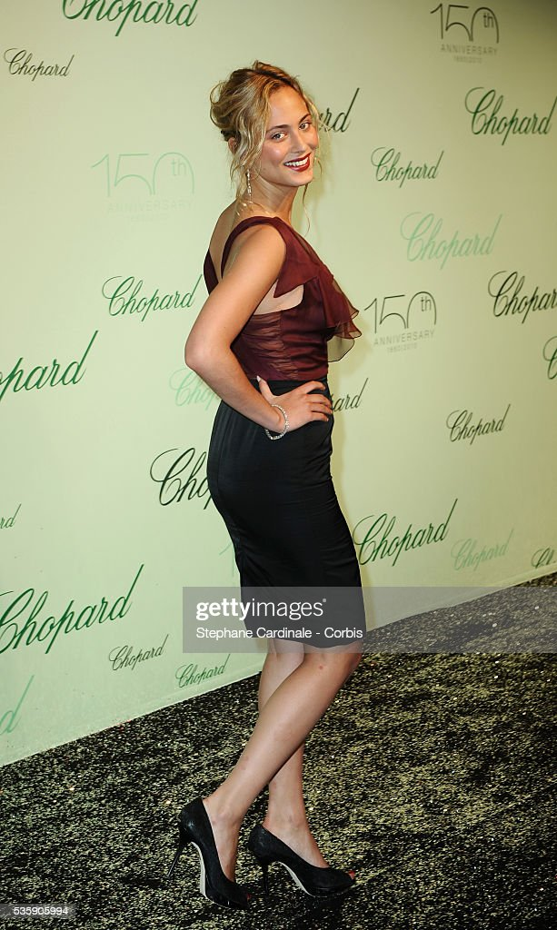Nora Arnezeder at the 'Chopard 150th Anniversary Party' during the 63rd Cannes International Film Festival.