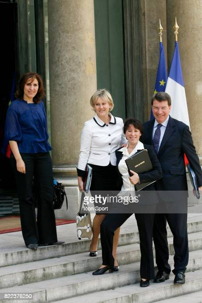 Nora BERRA Secretaire d Etat chargee des Aines Nadine MORANO secretaire d Etat a la famille et la Solidarite Fadela AMARA Xavier DARCOS Ministre du...