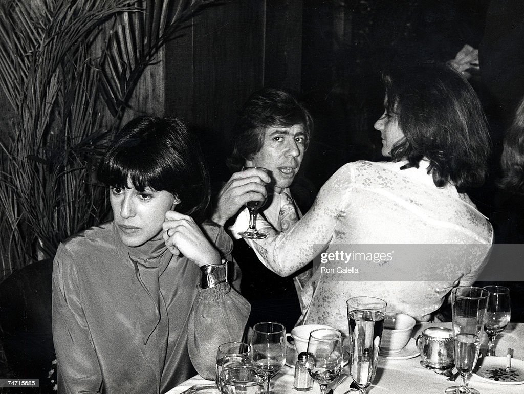 Nora Ephron, Carl Bernstein, And at the Tavern on the Green in New York City, New York