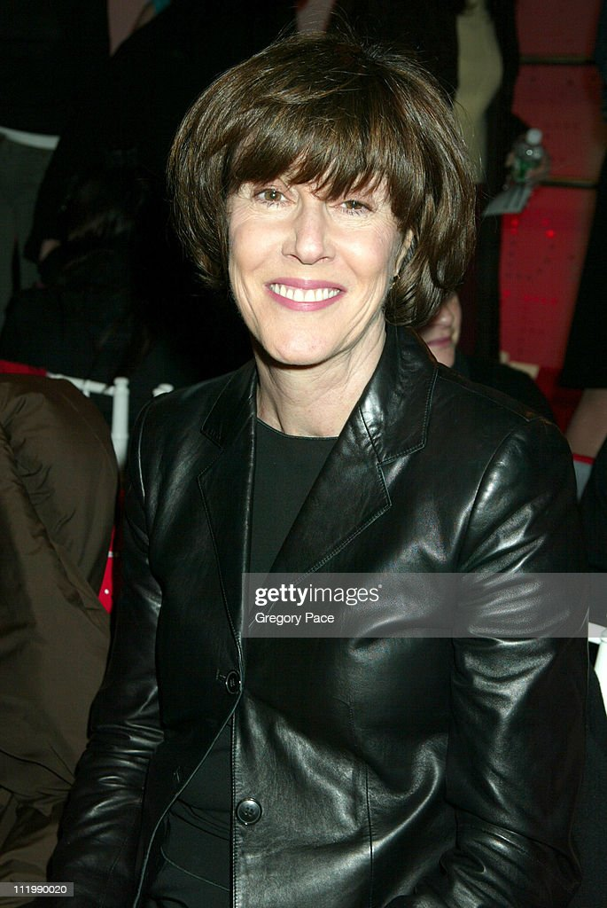 Nora Ephron during Diane Von Furstenberg Fall 2003 Collection at DVF Showroom in New York, NY, United States.