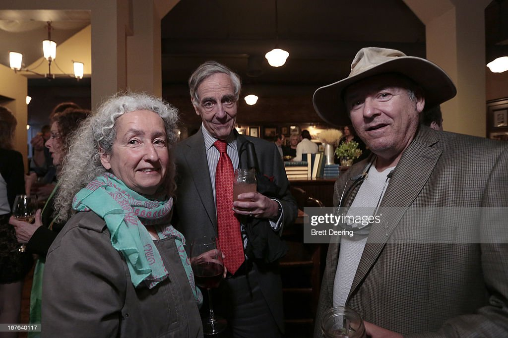 Nora Guthrie and George Kaiser attend an event for the Woody Guthrie Center on April 26, 2013 in Tulsa, Oklahoma.