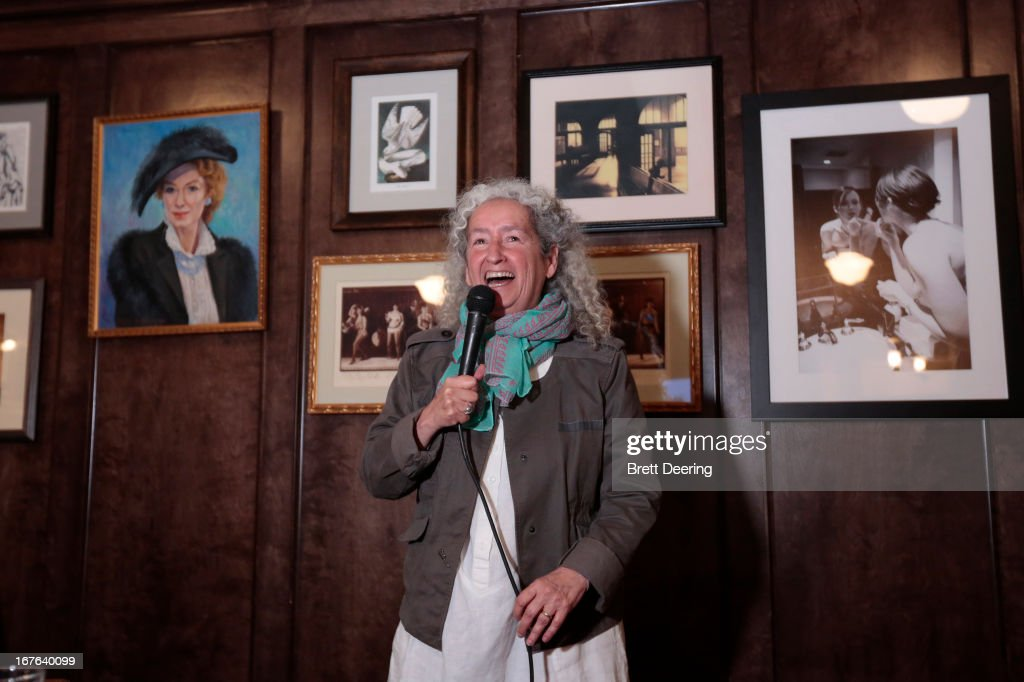 Nora Guthrie speaks during an event for the Woody Guthrie Center on April 26, 2013 in Tulsa, Oklahoma.