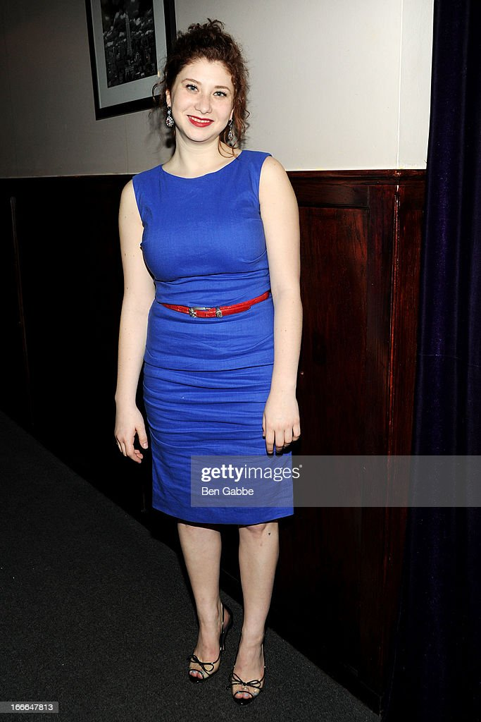 Nora Menken attends A Swell Party To Benefit the Actors Fund at the Metropolitan Room on April 14, 2013 in New York City.