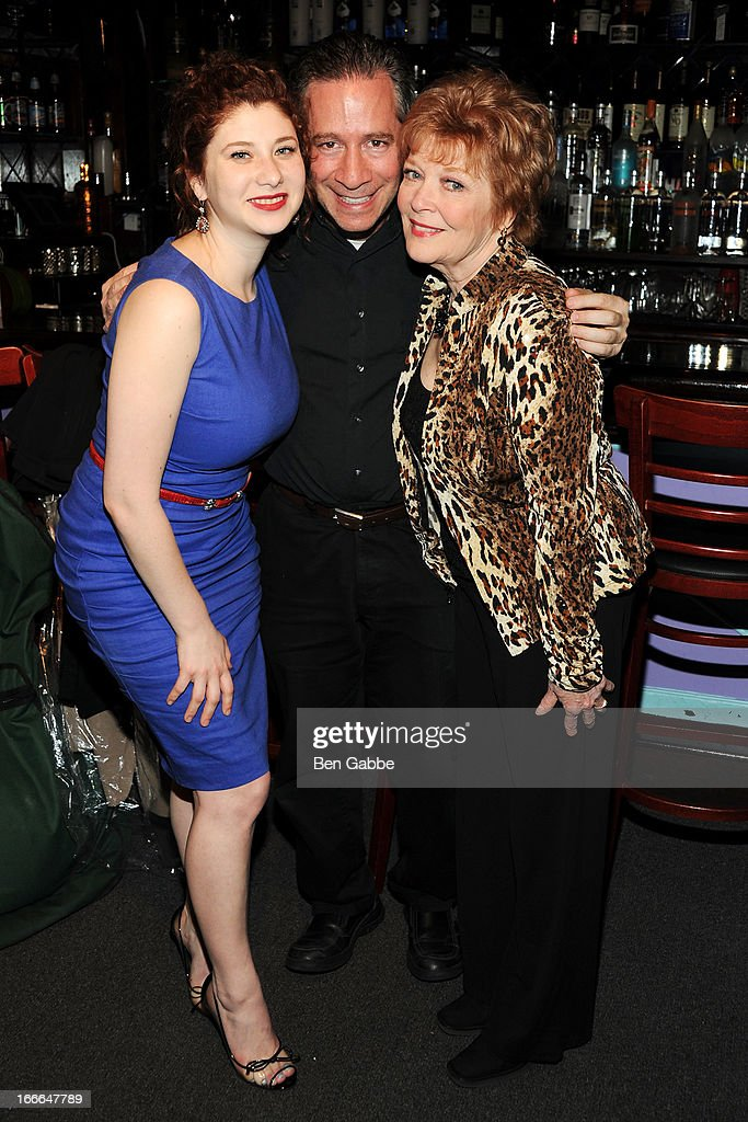 Nora Menken, composer Michael Levine and Actress Anita Gillette attend A Swell Party To Benefit the Actors Fund at the Metropolitan Room on April 14, 2013 in New York City.