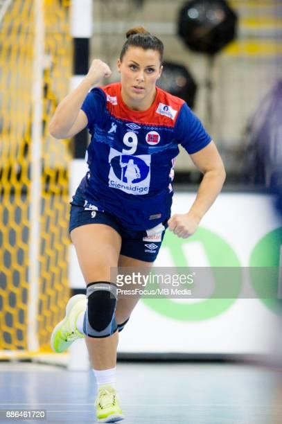 Nora Mork of Norway during IHF Women's Handball World Championship match between Norway and Poland on December 05 2017 in BietigheimBissingen Germany
