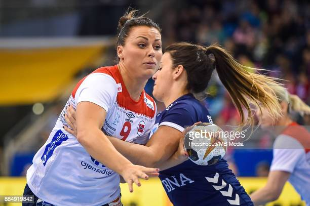 Nora Mork of Norway in action during IHF Women's Handball World Championship group B match between Argentina and Norway on December 03 2017 in...