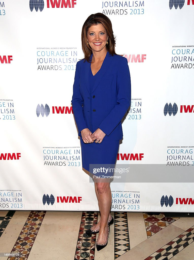 Nora O'Donnell attends the International Women's Media Foundation's 2013 Courage In Journalism awards at Cipriani 42nd Street on October 23, 2013 in New York City.