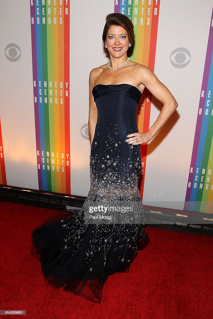 Nora O'donnell attends the The 36th Kennedy Center Honors gala at The Kennedy Center on December 8, 2013 in Washington, DC.