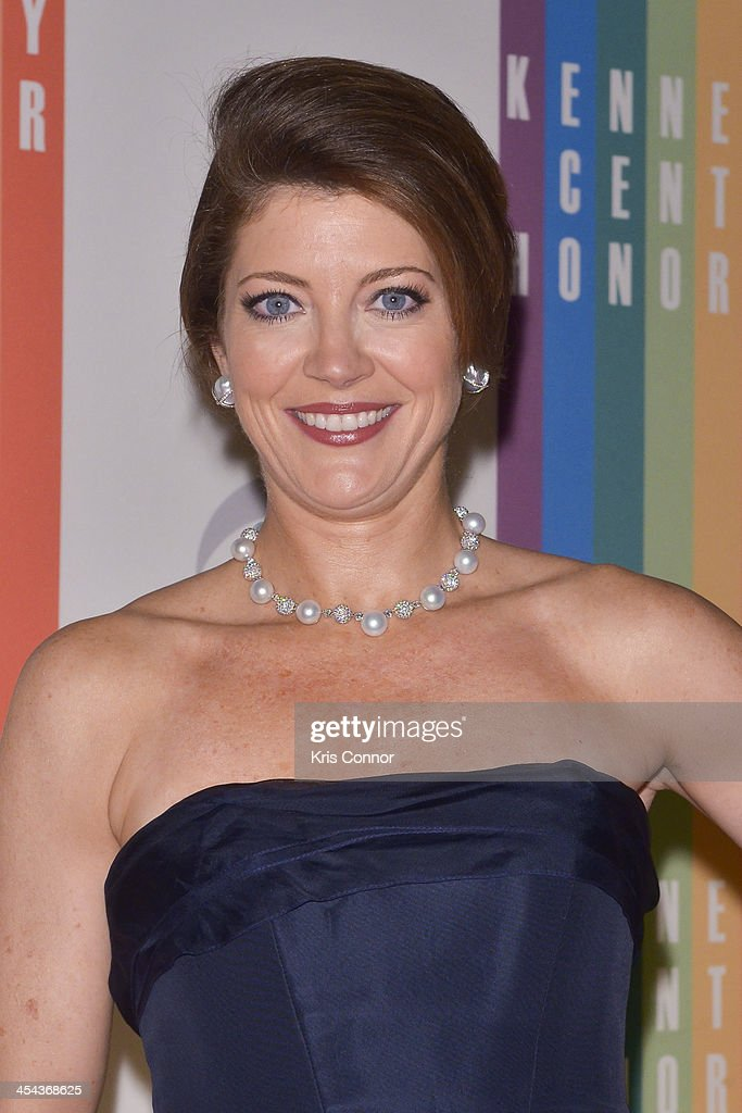 Nora O'Donnell poses on the red carpet during the The 36th Kennedy Center Honors gala at the Kennedy Center on December 8, 2013 in Washington, DC.