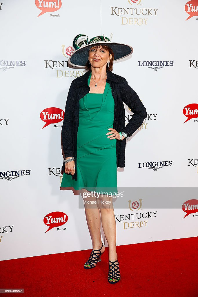 Nora Roberts attends 139th Kentucky Derby at Churchill Downs on May 4, 2013 in Louisville, Kentucky.