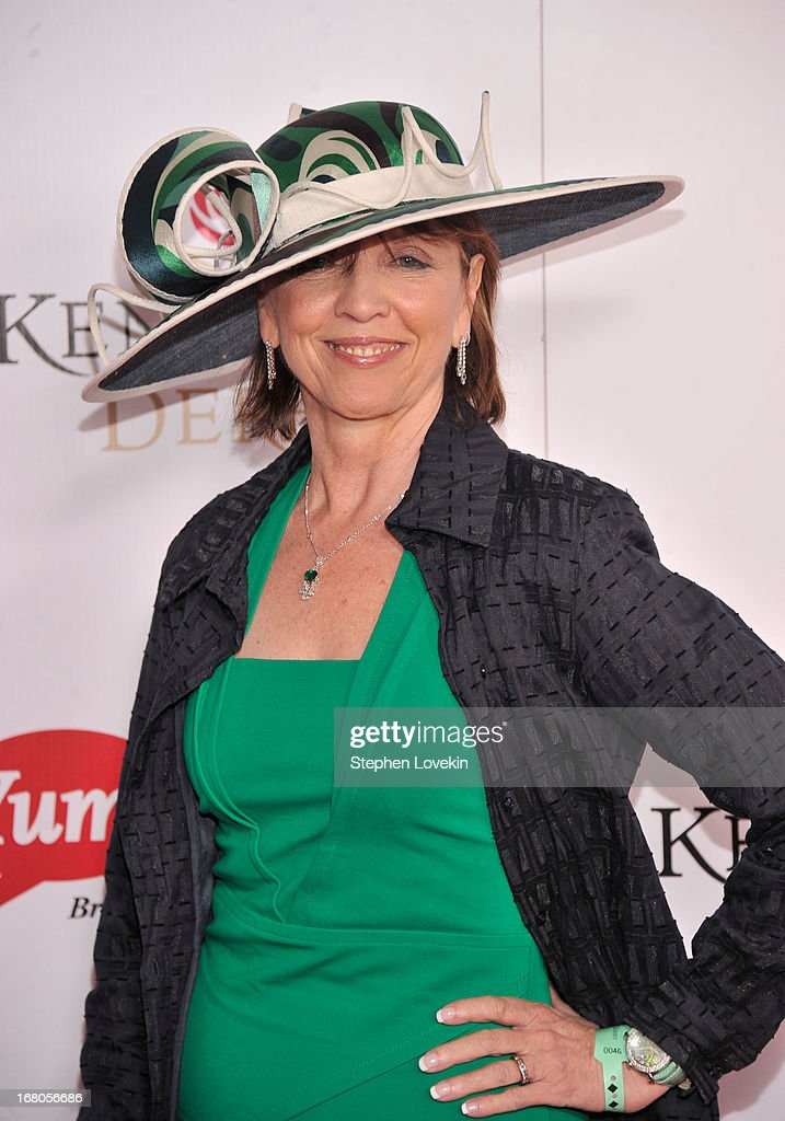 Nora Roberts attends the 139th Kentucky Derby at Churchill Downs on May 4, 2013 in Louisville, Kentucky.