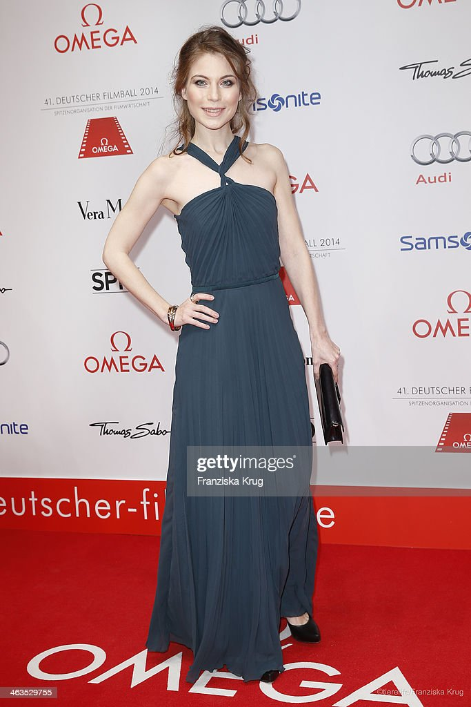 Nora von Waldstaetten attends the German Film Ball 2014 (Deutscher Filmball) on January 18, 2014 in Munich, Germany.