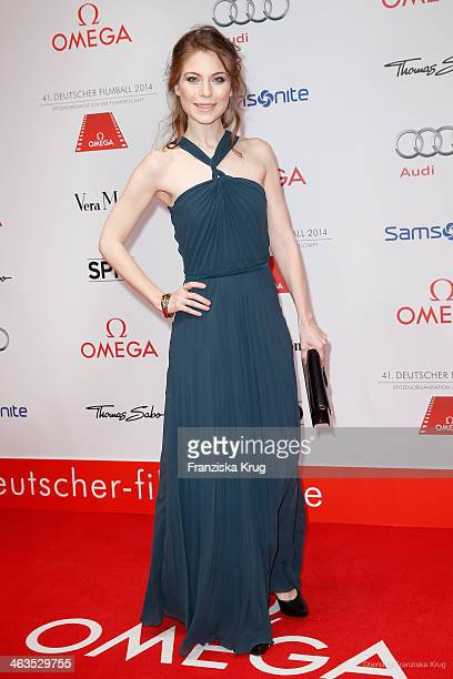 Nora von Waldstaetten attends the German Film Ball 2014 on January 18 2014 in Munich Germany
