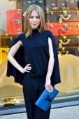 Norah von Waldstaetten pictured at the Louis Vuitton Global Store Opening on May 6 2014 in Frankfurt am Main Germany