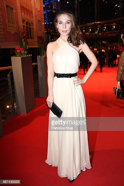 Nora von Waldstetten attends the Opening Party 64th Berlinale International Film Festival at Berlinale Palast on February 06 2014 in Berlin Germany