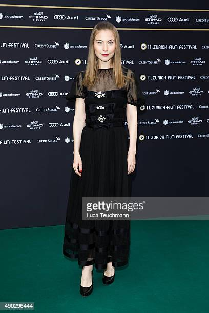 Nora von Waldstätten attends the 'Die Dunkle Seite Des Mondes' Premiere during the Zurich Film Festival on September 27 2015 in Zurich Switzerland...