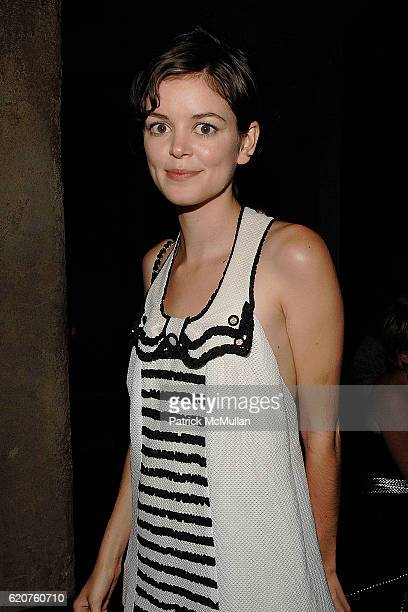 Nora Zehetener attends Cocktails and hors d' oeuvres to Celebrate the Launch of Thompson Hotels' Second Issue of Room 100 at Teddy's on July 11 2008...