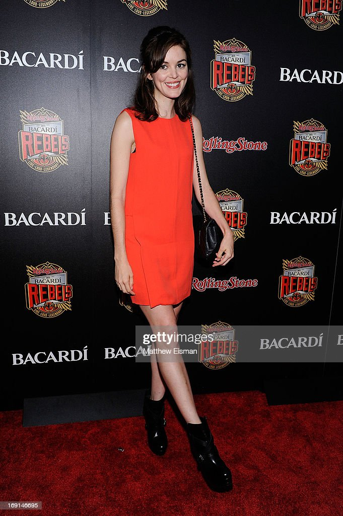 <a gi-track='captionPersonalityLinkClicked' href=/galleries/search?phrase=Nora+Zehetner&family=editorial&specificpeople=234442 ng-click='$event.stopPropagation()'>Nora Zehetner</a> attends the 2013 Bacardi Rebels event hosted by Rolling Stone at Roseland Ballroom on May 20, 2013 in New York City.
