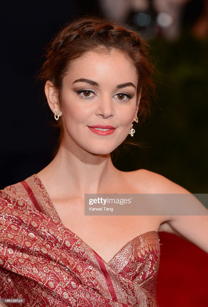 Nora Zehetner attends the Costume Institute Gala for the 'PUNK: Chaos to Couture' exhibition at the Metropolitan Museum of Art on May 6, 2013 in New York City.