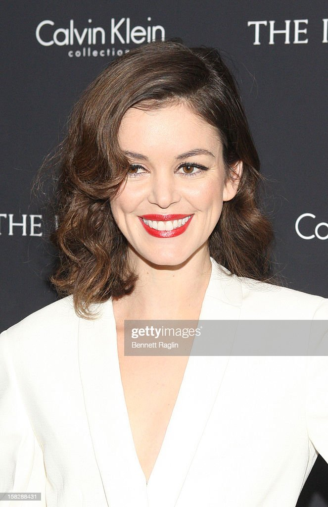 Nora Zehetner attends 'The Impossible' New York Special Screening at Museum of Art and Design on December 12, 2012 in New York City.