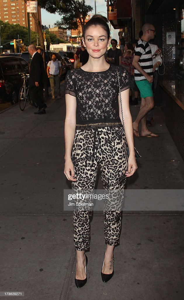 Nora Zehetner attends the Lionsgate And Roadside Attractions With The Cinema Society Screening Of 'Girl Most Likely' at Landmark's Sunshine Cinema on July 15, 2013 in New York City.