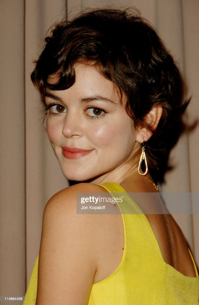 Nora Zehetner during 6th Annual Awards Season Diamond Fashion Show Preview Hosted by Diamond Information Center and In Style at Beverly Hills Hotel...