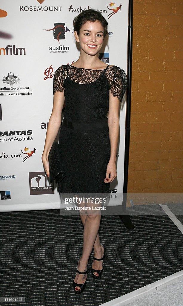 Nora Zehetner during Australians in Film 2007 Breakthrough Awards Arrivals at Avalon Hotel in Beverly Hills CA United States