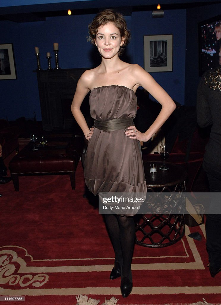Nora Zehetner during MercedesBenz Fashion Week Fall 2007 Katy Rodriguez Presentation and Cocktail Party at Grammercy Hotel in New York City New York...