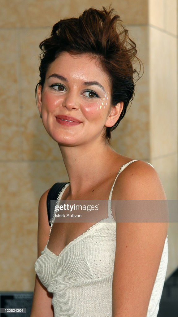 Nora Zehetner during Television Critics Association ABC Arrivals Day One at Renaissance Hotel in Hollywood California United States
