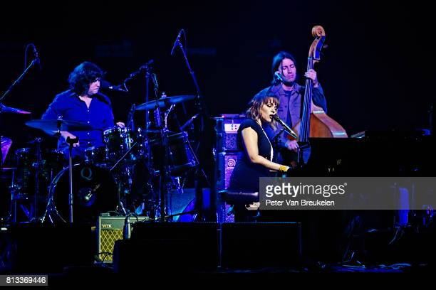 Norah Jones Performs at North Sea Jazz Festival on July 8th 2017 in Rotterdam The Netherlands