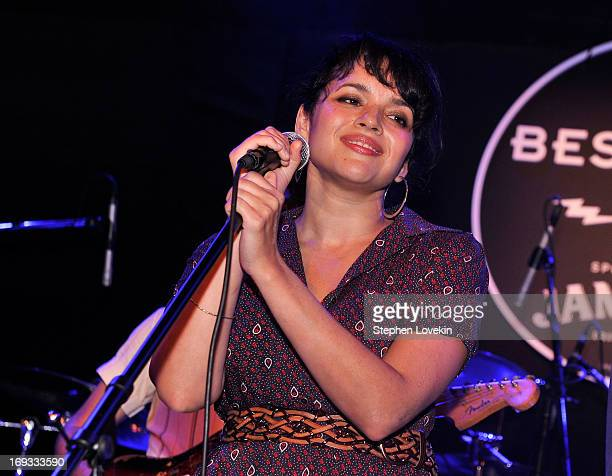 Norah Jones performs during Stones Fest NYC Sponsored By Jameson at Bowery Ballroom on May 22 2013 in New York City