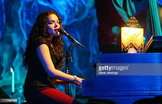 Norah Jones Performs songs off her CD ' Come Away With Me' at Bimbo's nightclub in San Francisco