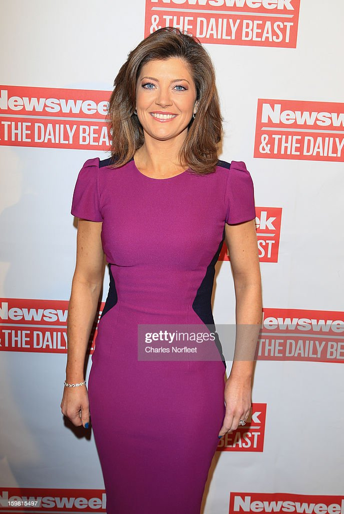 Norah O'Donnell attends The Daily Beast Bi-Partisan Inauguration Brunch at Cafe Milano on January 20, 2013 in Washington, DC.