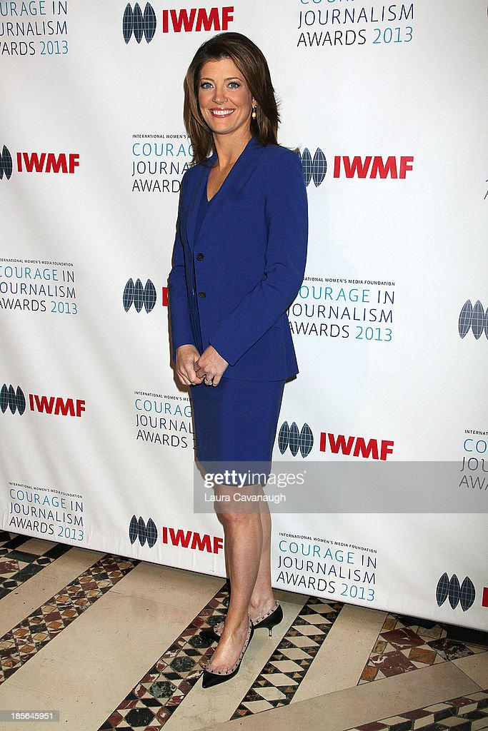 Norah O'Donnell attends the International Women's Media Foundation's 2013 Courage In Journalism awards at Cipriani 42nd Street on October 23, 2013 in New York City.