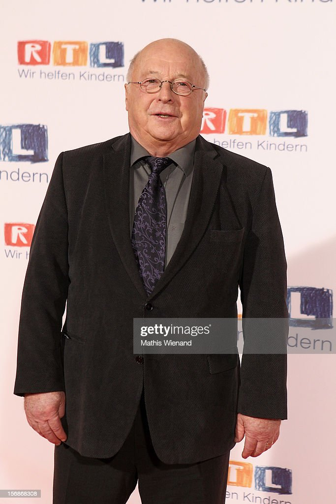 Norbert Bluehm attends the 'RTL Spendenmarathon' at RTL Studios on November 23, 2012 in Cologne, Germany.