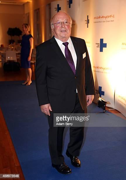 Norbert Bluem arrives for the 16th Medienpreis der Kindernothilfe award ceremony on November 14 2014 in Berlin Germany
