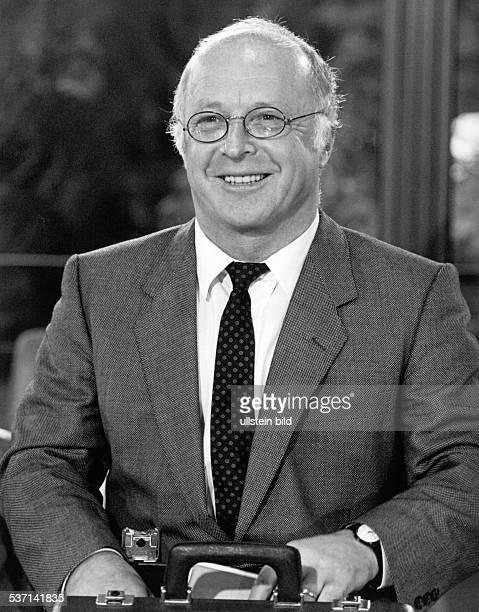 Norbert Bluem Politiker CDU BRD Portrait Aufnahme 1986