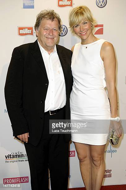 Norbert Haug and Anne Wis attend the Movie Meets Media Party during the Munich Film Festival at P1 on July 2 2012 in Munich Germany