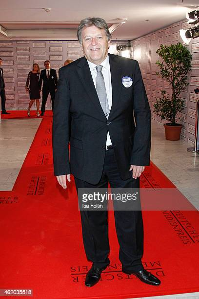 Norbert Haug attends the German Media Award 2015 on January 23 2015 in BadenBaden Germany