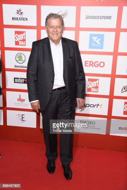Norbert Haug attends the Sport Bild Award on August 21 2017 in Hamburg Germany