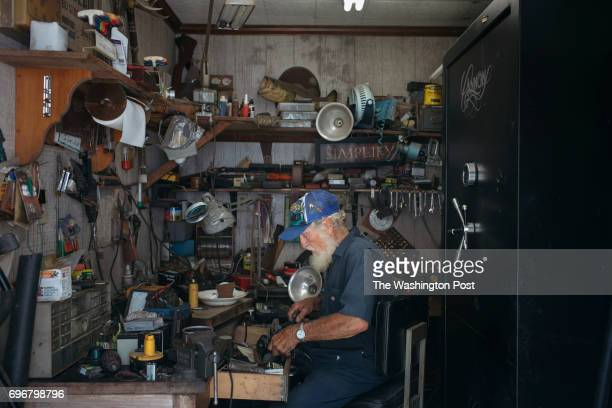 Norbert LeBlanc at his home in St Martin Parish Louisiana on June 7 2017 'I don't worry about time time doesn't mean nothing' LeBlanc said'If you...