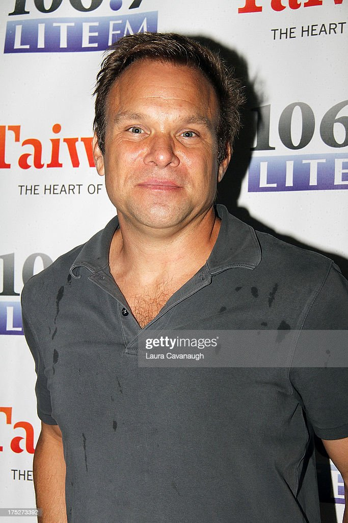 <a gi-track='captionPersonalityLinkClicked' href=/galleries/search?phrase=Norbert+Leo+Butz&family=editorial&specificpeople=206859 ng-click='$event.stopPropagation()'>Norbert Leo Butz</a> attends 106.7 LITE FM's Broadway in Bryant Park 2013 at Bryant Park on August 1, 2013 in New York City.