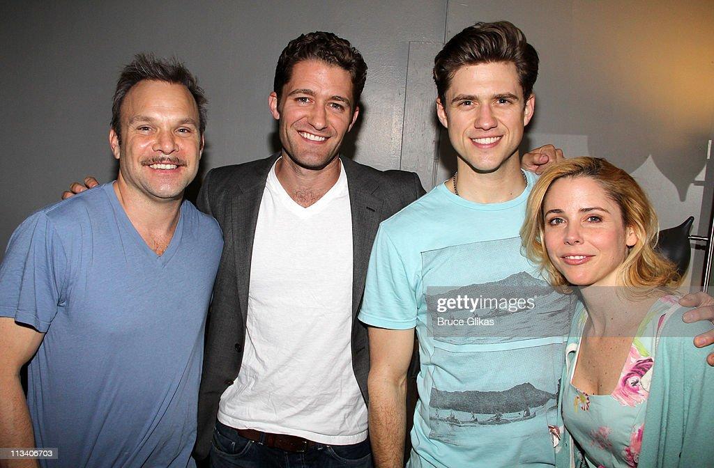 Celebrities Visit Broadway - May 1, 2011